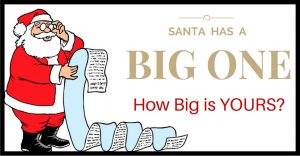 Professional Speakers: Santa has a BIG one… how big is yours?