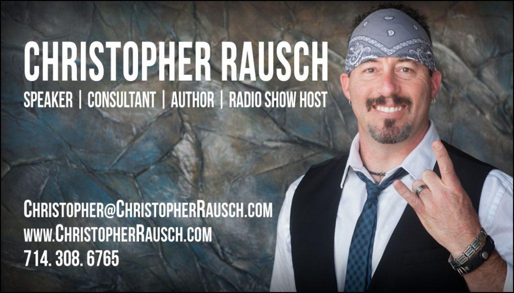 Christopher Rausch Business Card