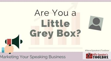 Emerging Speakers — Are You a Little Grey Box?