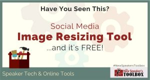 Cool Social Media Image Resizing Tool… and it's FREE!