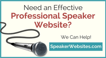 Need a Professional Speaker Website?