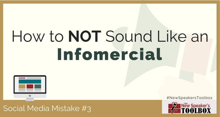 social media mistakes professional speakers make