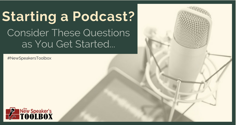 Things to Consider When Starting a Podcast