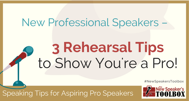 Public Speaking Rehearsal Tips
