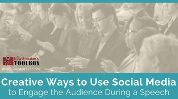 Creative Ways Speakers Can Use Social Media to Engage the Audience During a Speech