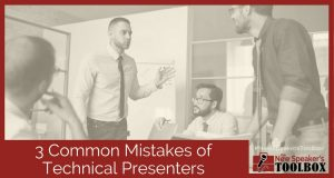 3 Common Mistakes of Technical Presenters