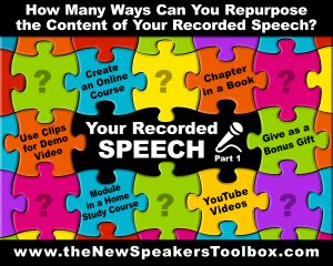 Your Recorded Speech - Part 1
